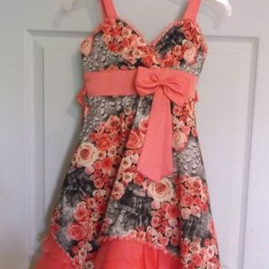 Other - Peach Party Dress Girl Size 5 NWT